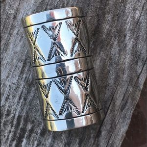 Accessories - Navajo Sterling Silver Ponytail Accessory